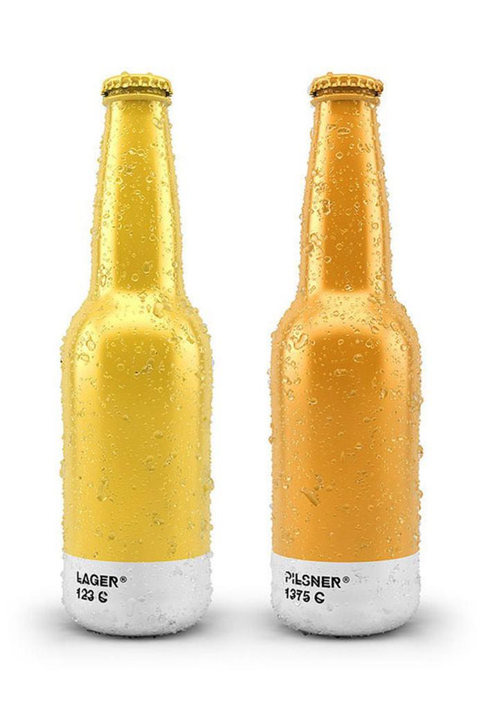 Pantone Beer Packaging Branding PMS