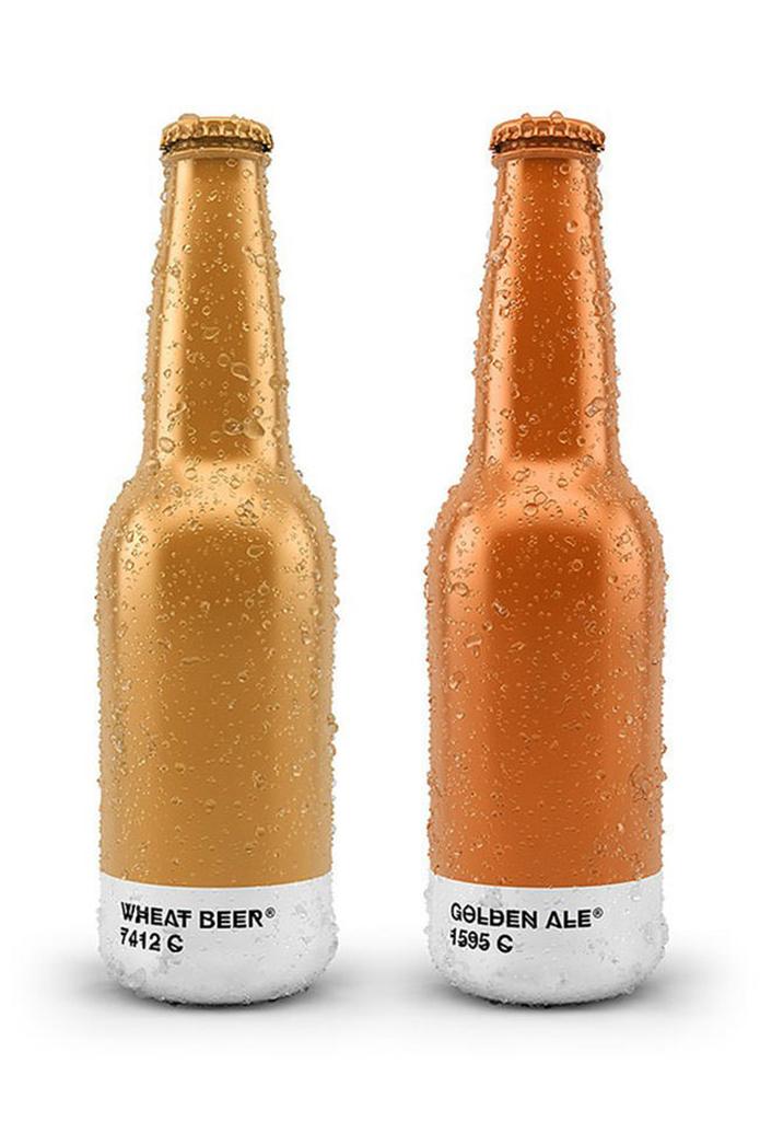 Pantone Beer Packaging