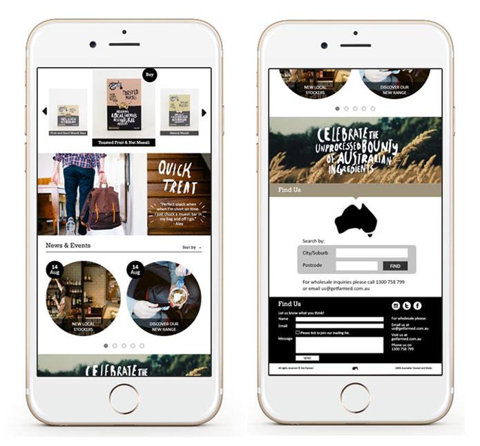 mobile site branding