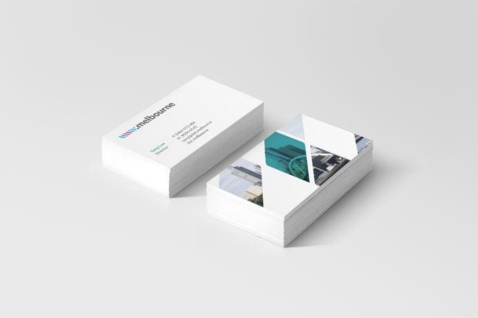 www.melbourne-Business-Card-Flat