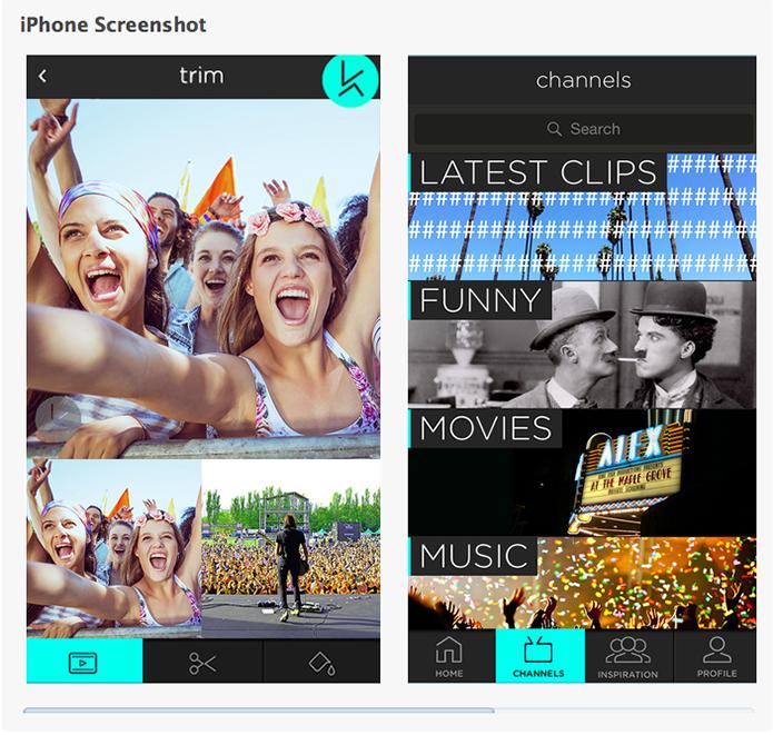 Truly Deeply app brand design