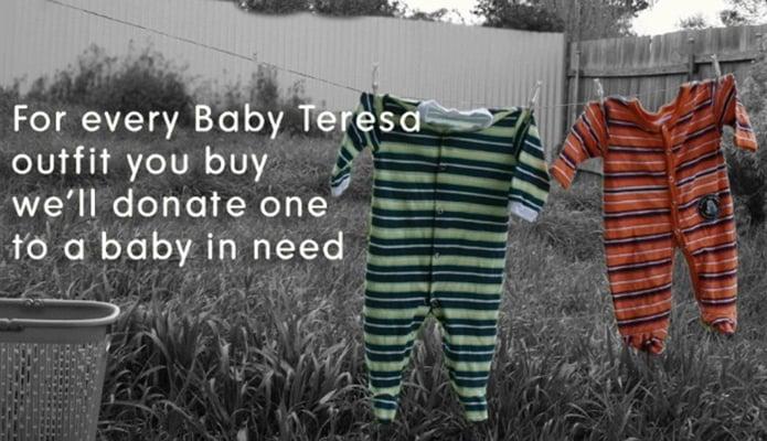 buy one give one baby teresa