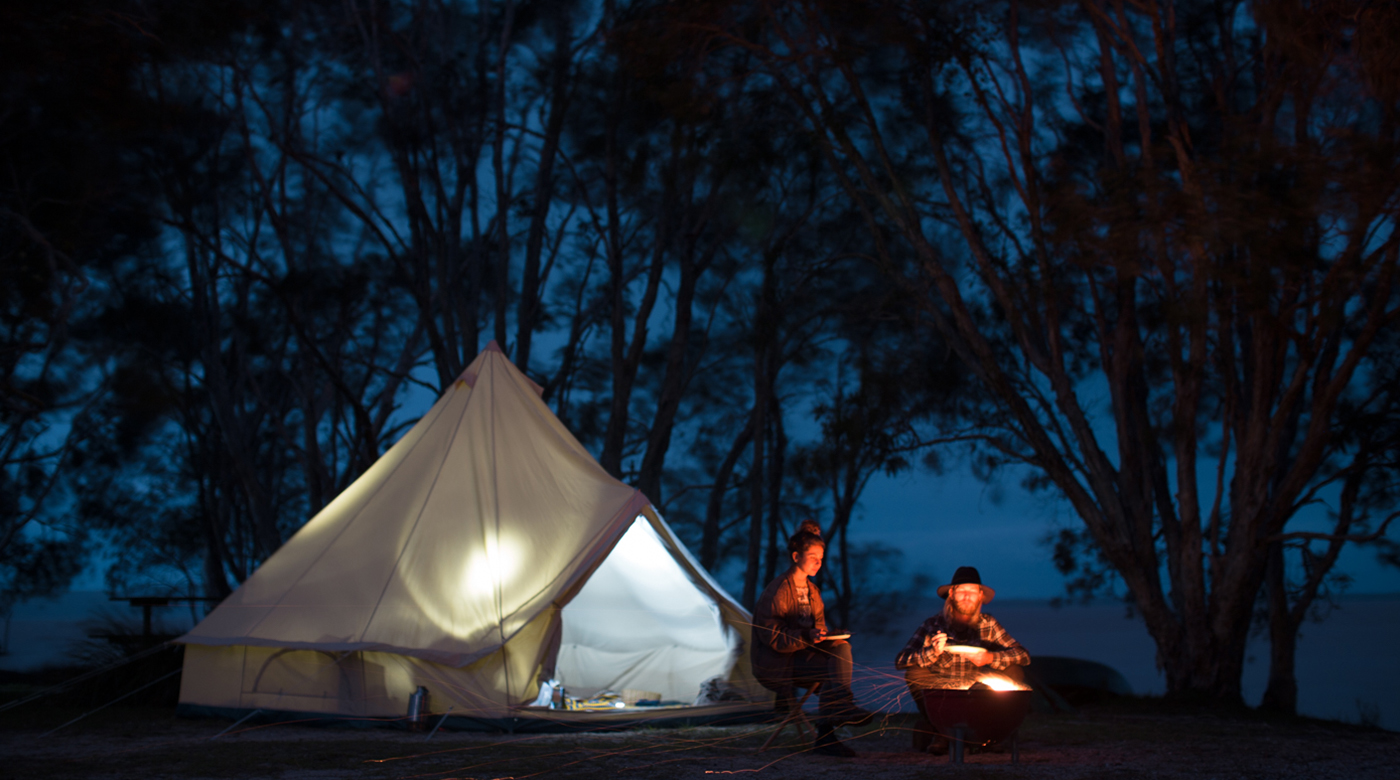 Homecamp outdoors