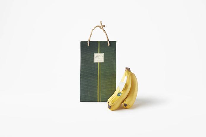 shiawase banana packaging