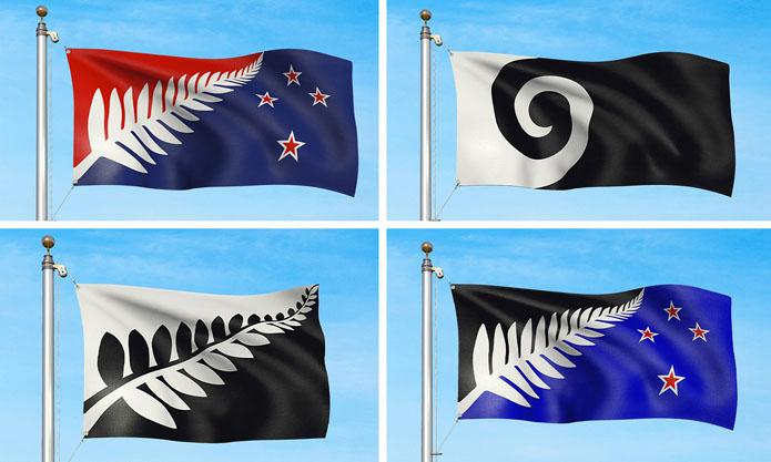 NZ flags four design
