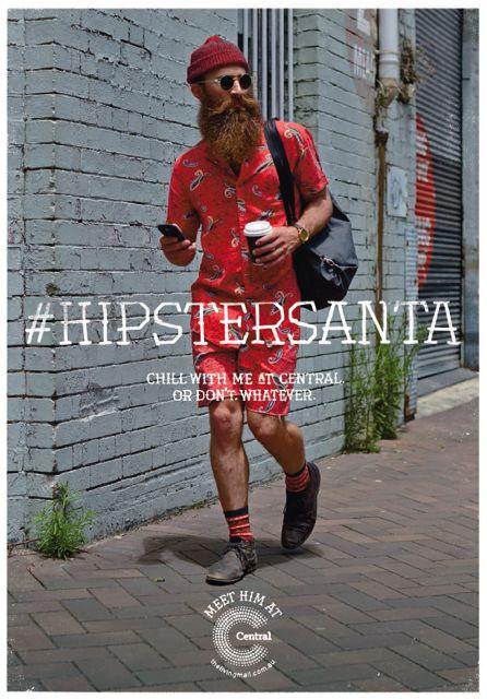 hispter-santa