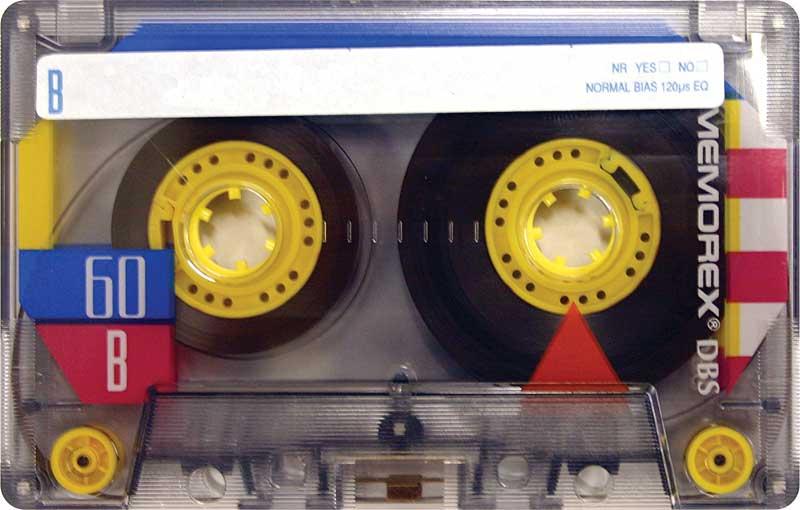 Memorex Cassette Tape