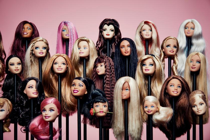 Barbie behind the scenes