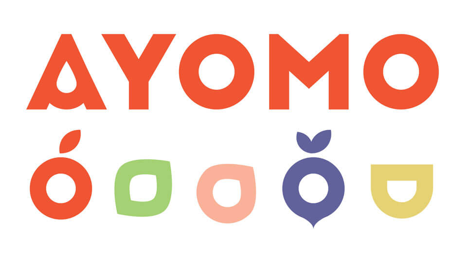 Ayomo identity design brand mark logo