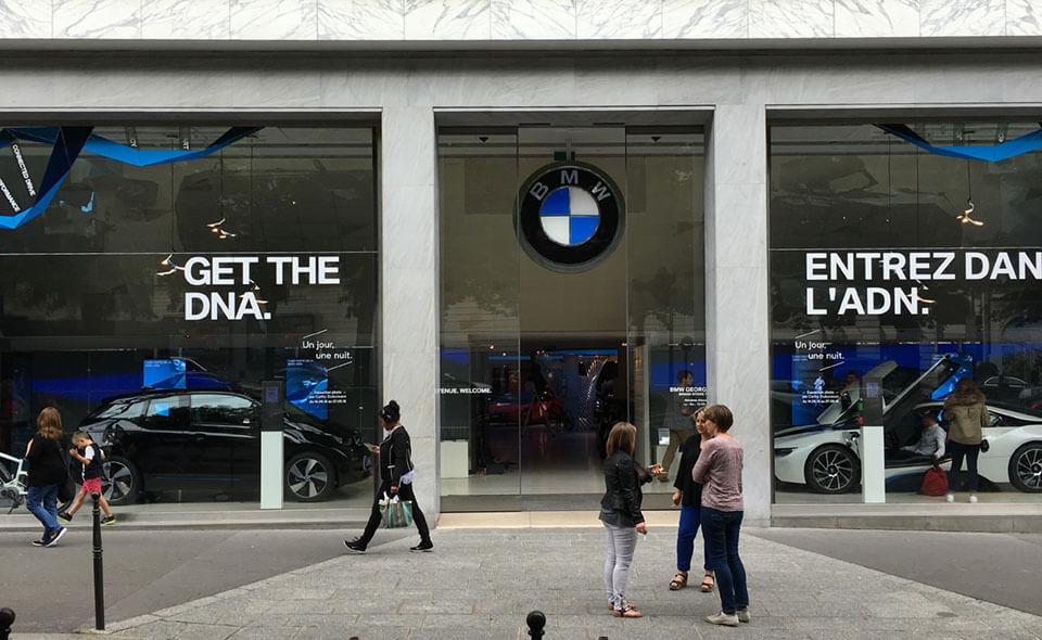car brand experience