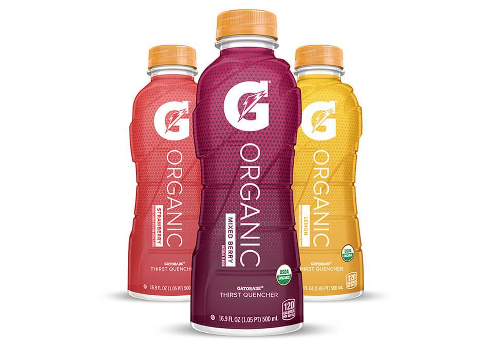 Gatorade Organic Brand Packaging