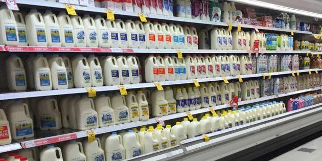 Coles Milk in the isle