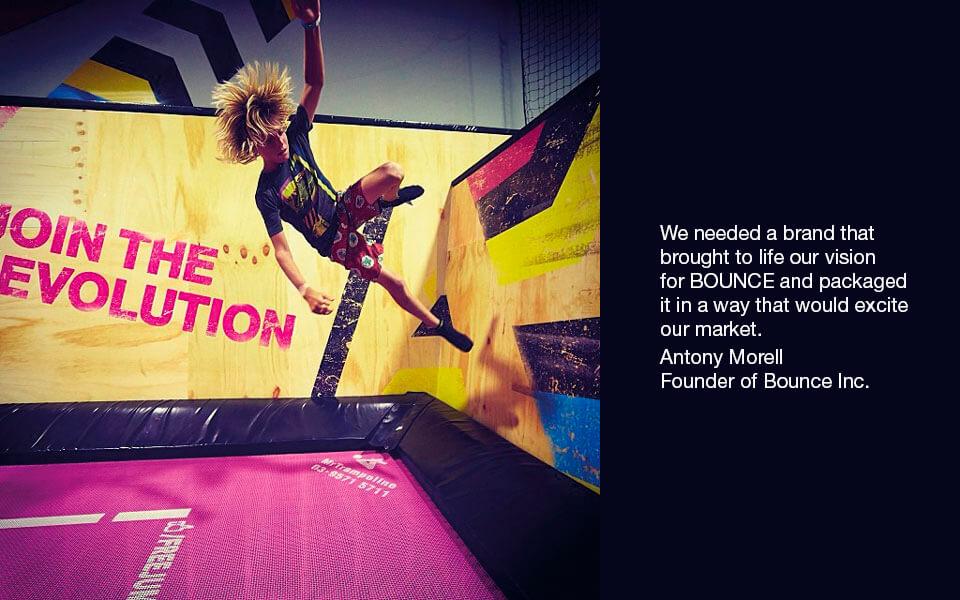 Bounce-wall-run