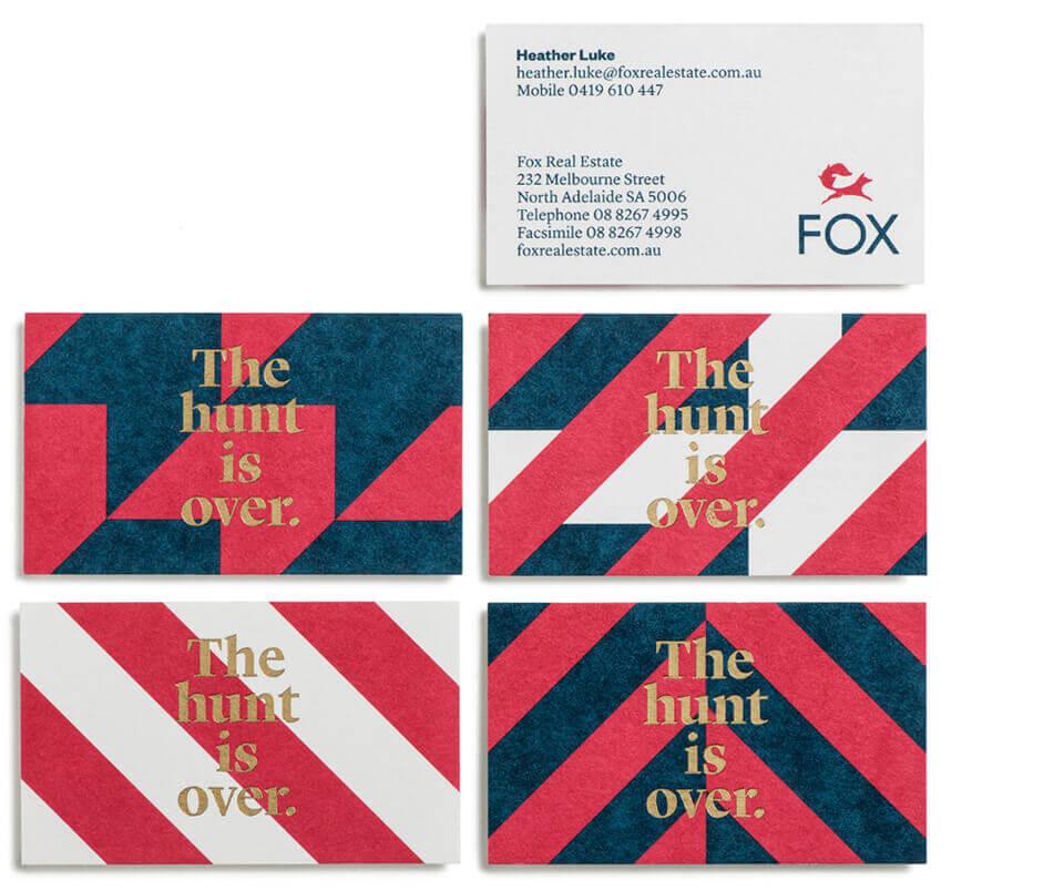Designing business cards Melbourne