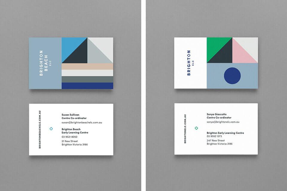 design brand business cards