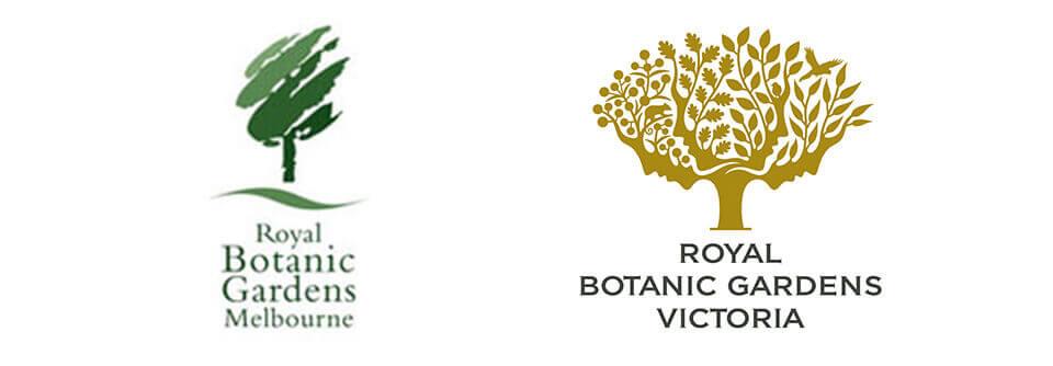 Royal Botanic gardens rebrand