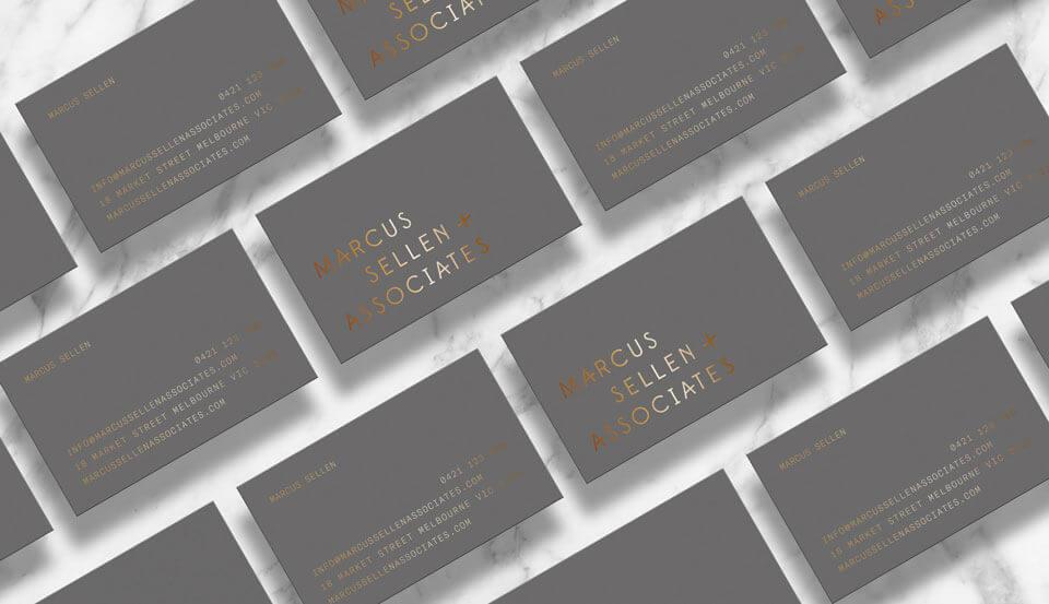 Marcus Sellen & Associates Cards