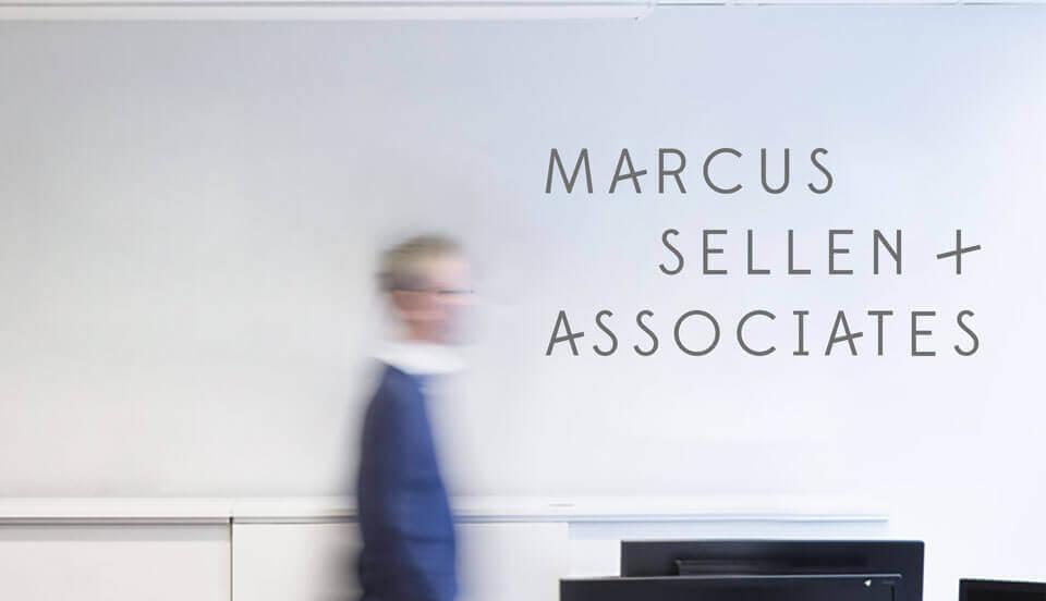 Marcus Sellen & Associates Sign