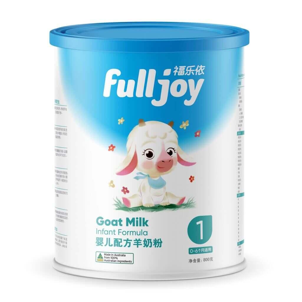 baby formula branding china