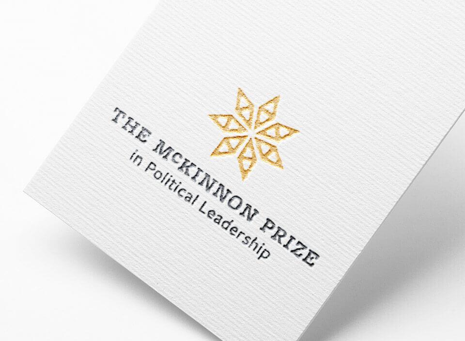 McKinnon prize logo