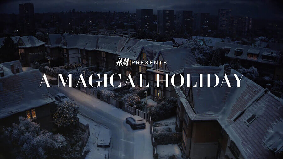 H&M A Magical Holiday Christmas Ad