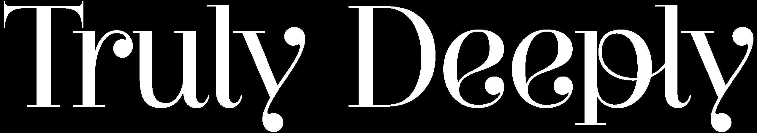 Truly Deeply - Brand Agency Melbourne Logo