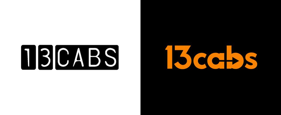 13 Cabs rebrand