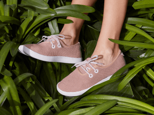 Allbirds tree fibre shoes