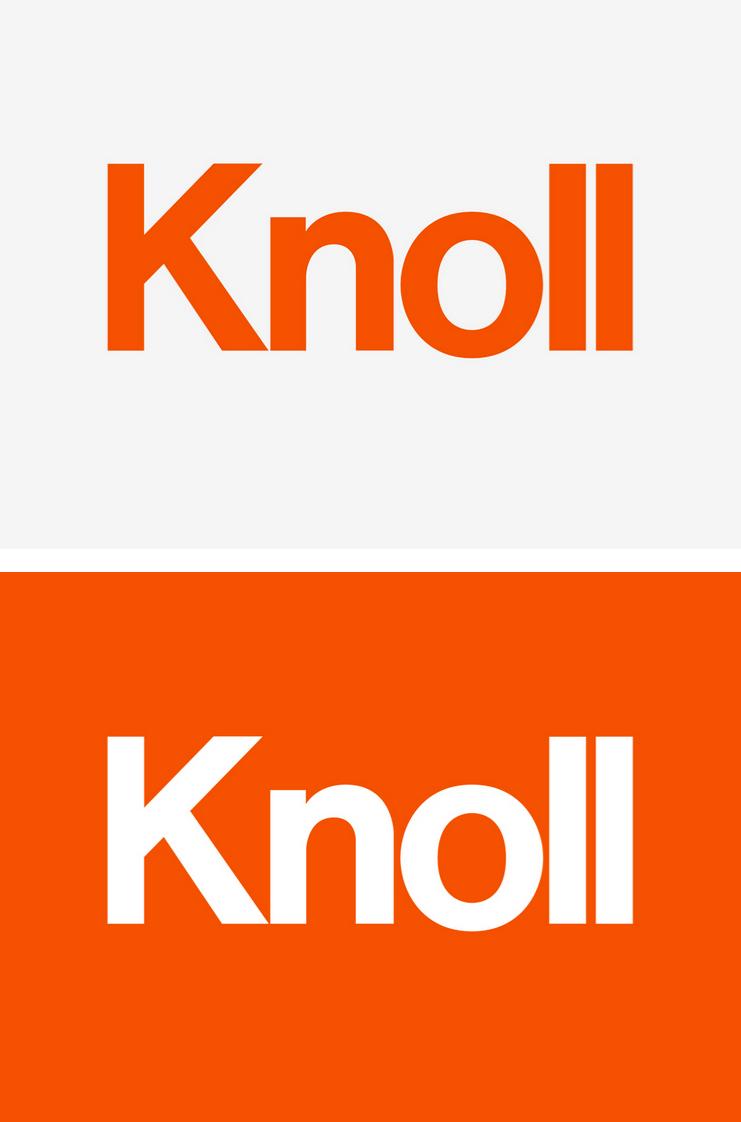 Knoll branding