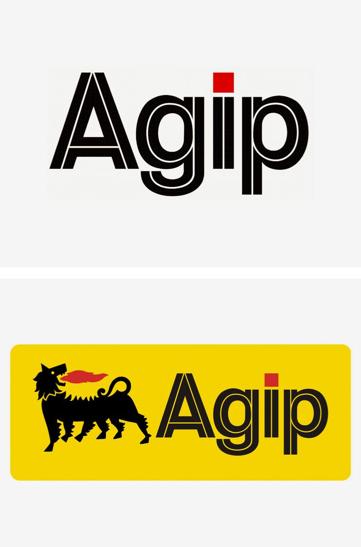 Agip branding