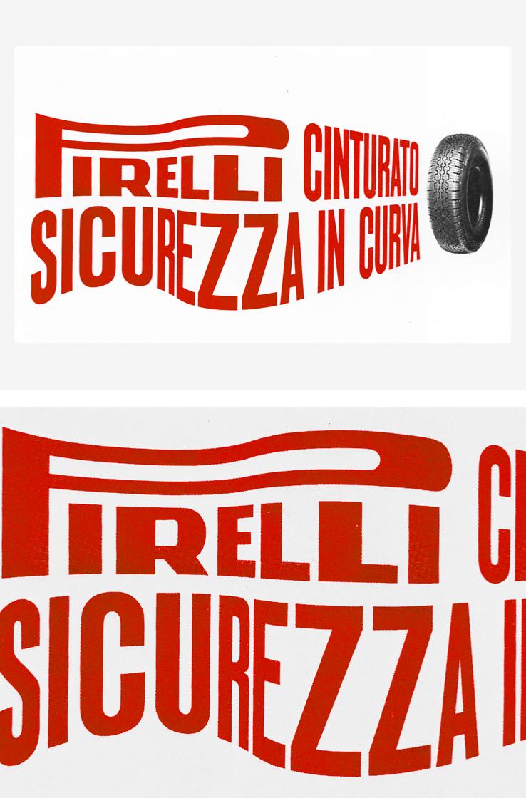 Pirelli poster design