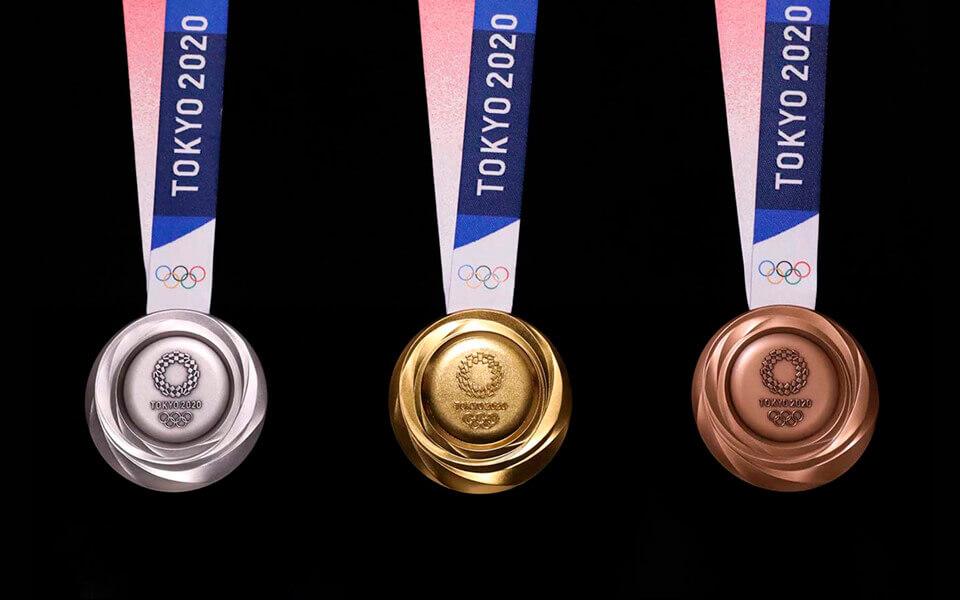 tokyo 2020 medal design