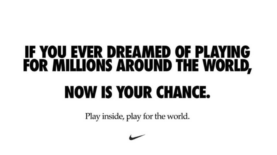 Nike-branding ad