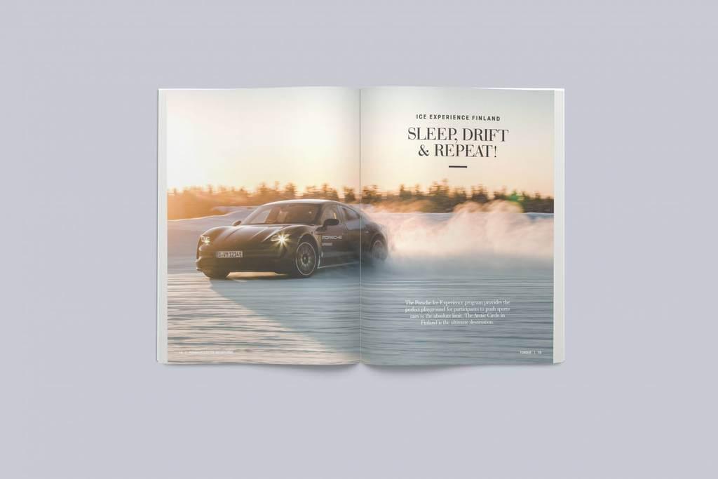 Brand, magazine, design
