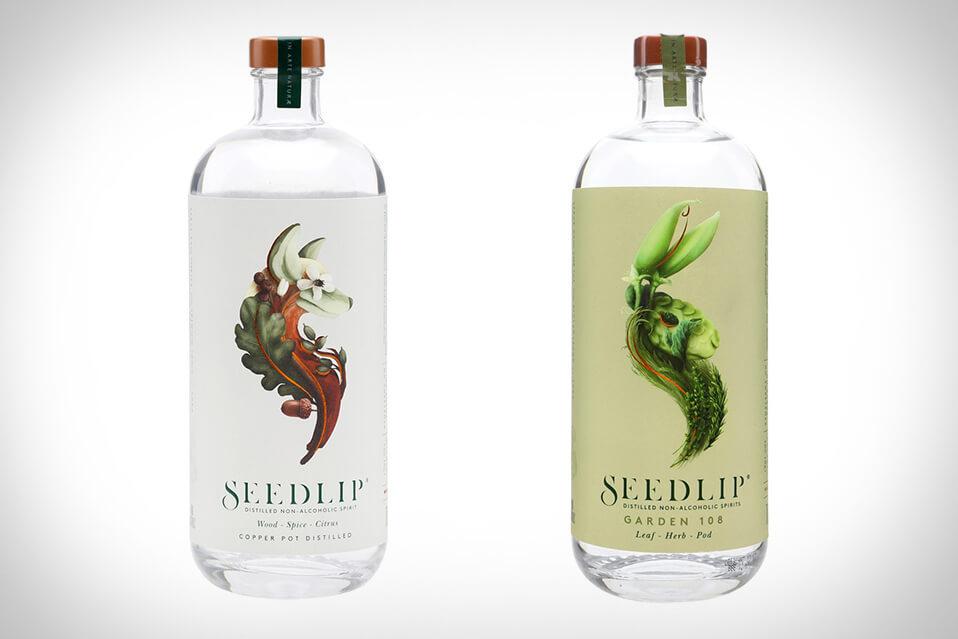 spirits packaging design