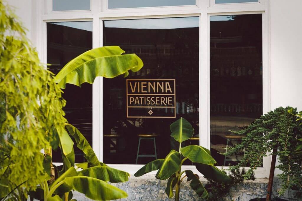Vienna Patisserie Window